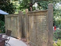 Patio Privacy Screen...nice