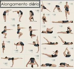 alongamentos para coluna - Google Search