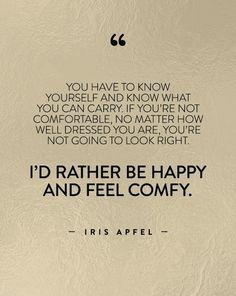 - IRIS APFEL