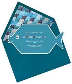 Whole Fish, Jonathan Adler+ Paperless Post