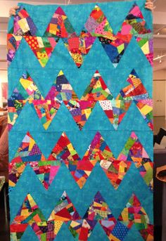 Inspiration provided by the Garden State Quilters! I taught a class there last Tuesday…I think you can see, we had so much fun! Quilting Projects, Quilting Designs, Crumb Quilt, Herringbone Quilt, Scrap Quilt Patterns, String Quilts, Chevron Quilt, Scrappy Quilts, Quilt Making