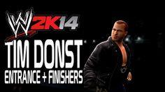 WWE 2K14 - Tim Donst Entrance + Finishers