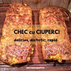 CHEC cu CIUPERCI: rețetă delicioasă în 3 pași - Servus Expert Baby Food Recipes, Bread Recipes, Diet Recipes, Cooking Recipes, Healthy Recipes, Healthy Meals, Finger Food Appetizers, Finger Foods, Appetizer Recipes