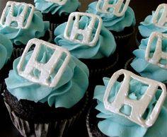 Cup cakes!!!  Honda