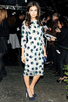Camilla Belle at the Chanel Dinner, April 2012