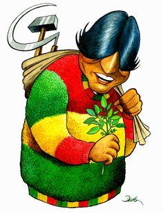 """Resultado de imagen para Caricaturas del indio Evo Morales"""""""