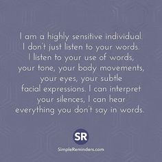 INFJ~Empath~HSP (Highly Sensitive Person)