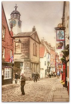 Whitby ~ a town in North Yorkshire - pic by paddypix