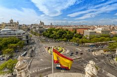 Madrid view from Town Hall - Photo by Miguel Díaz.