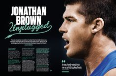AFL Record | Round 18 | Jonathan Brown Feature