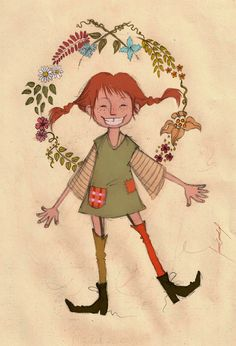 Pippi Longstocking by Meme-candia