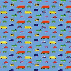 Marimekko Light Blue Pikku Bo Boo Fabric $48.00