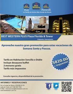 Pasa tus vacaciones de Semana y Pascua en Irapuato, Guanajuato con tarifa especial de $820 más impuestos por noche.