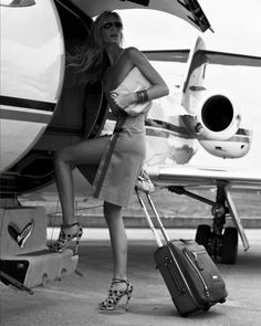 Jetsetting in dotted heels: Amy Hixson for A Magazine, March 2012