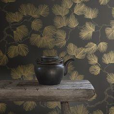 230 idees de papier peint dore