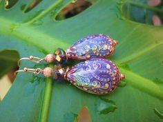 jewelry on plant leaf