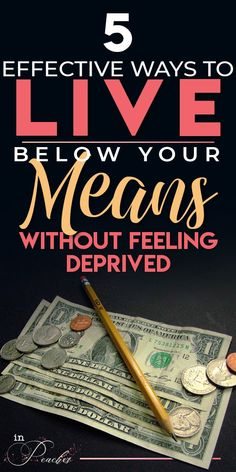 5 Effective Ways to Live Below your Means without Feeling Deprived - inPeaches Best Money Saving Tips, Money Saving Challenge, Ways To Save Money, Money Tips, Saving Money, Financial Goals, Financial Planning, Living Below Your Means, Weed Killer