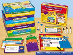 Common Core Language Arts Standards Learning Centers - Complete Set  #LakeshoreDreamClassroom