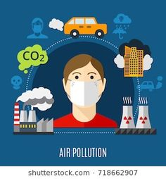 Find Air Pollution Concept Factory Carbon Dioxide stock images in HD and millions of other royalty-free stock photos, illustrations and vectors in the Shutterstock collection. Thousands of new, high-quality pictures added every day. Science Projects, Science Activities, Air Pollution Project, Pollution Pictures, Air Pollution Poster, Save Our Earth, Industrial Design Sketch, Environmental Science, Environmental Justice