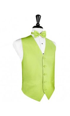 Evening dress emerald green vest