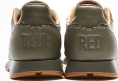 """af815af665e Style  BS7465. Kendrick Lamar x Reebok Classic Leather Lux """"Red and Blue"""""""