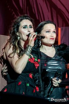 "Sharon Den Adel of Within Temptation and Tarja Turunen singing ""Paradise (What About Us?)"" live at Hellfest 2016, France #tarja #tarjaturunen #tarjalive #sharondenadel #withintemptation #hellfest #hellfest2016 PH: Draksmoon - Julie Warnier https://www.facebook.com/Draksmoon/"