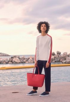 For FW17, Lacoste has released a dedicated sportswear collection for both men and women. The looks include full tracksuits, as well as their iconic polos.