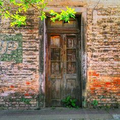 Vieja puerta, en Resistencia, Chaco, Argentina / por Gustavo Flores