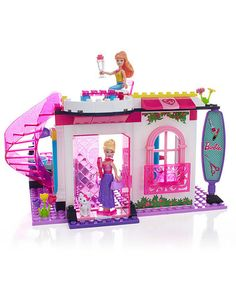 Take a look at this Build 'n' Play Glam Salon Block Set by Barbie on #zulily today!