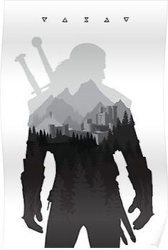 The Witcher 3 - Geralt of Rivia (Signs) Posters