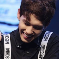 Wonpil ♡ Never give up on the lovely things that make you happy ♡ Moschino, Kim Wonpil, My Only Love, Greatest Songs, In Loving Memory, Day6, Vixx, Pink Sweater, Kpop Groups