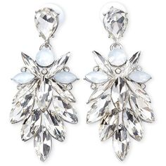 Forever 21 Rhinestone Petal Drop Earrings ($6.90) ❤ liked on Polyvore featuring jewelry, earrings, fake jewelry, tear drop earrings, sparkle jewelry, polish jewelry and imitation jewelry