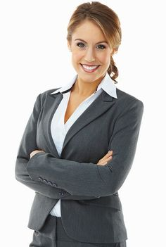 Portrait of a successful and happy business woman with hands folded Business Grants, Business Professional, Professional Women, Business Women, Professional Headshots, Business Lady, Business Suits, Professional Wardrobe, Corporate Portrait