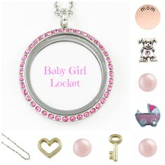 Baby Girl Locket - South Hill Designs Locket http://www.southhilldesigns.com/justinerombough/default