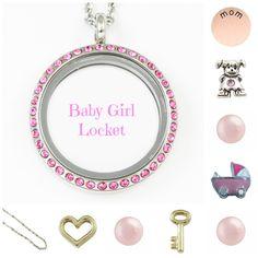 Baby Girl Locket - South Hill Designs Locket http://www.southhilldesigns.com/lisamollieperks