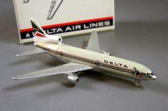 Schuco Schabak Die Cast Promotional Model Jet Airplane // Delta L-1011 TriStar // from Successionary, $11.97