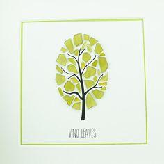 Green Picture - Wall Art - Glass Art - Family Gift - Unique Tree Art - Beach Art…