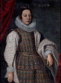 Presumed Portrait of Mattias de Medici (1613-1667) byJustus Sustermans