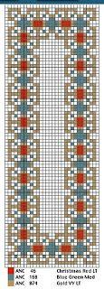 Brain Clutter: Cross stitch pattern: Bookmarks & Borders #2