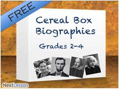 Cereal box biography template costumepartyrun cereal box project examples maxwellsz