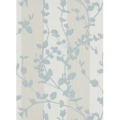 Vliestapete floral Streifen creme blau Tapete Make Up 2 6929-18 692918