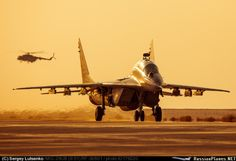 Great Photo of MiG-29UB Fulcrum ✰ Russian Air Force ✰ | ★ Su-27 Flanker ★