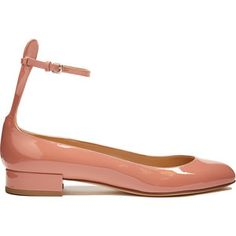 Francesco Russo Patent-leather ballet flats