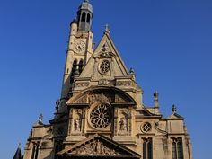 Eglise Saint-Etienne du Mont ,, never been there, but it looks awesome