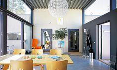 Ekstrands dörrar på arkitektritat hus i Åhus #Ekstrands #Dörrar #Arkitektur #Inspiration #Hus #Doors #Architecture #Design