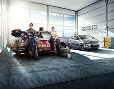 Worldwide Shell campaign in cooperation with Hyundai