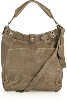 Vanessa Bruno Camel Leather Hobo Bag