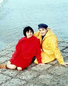 Agnès Varda: 'I am still alive, I am still curious. I am not a piece of rotting flesh' : Varda with Jacques Demy. The giant of the Nouvelle Vague on her latest film, Faces Places, life with Jacques Demy, and that 'dirty rat' Jean-Luc Godard Jacques Demy, Agnes Varda, Weekend Film, French New Wave, Jean Luc Godard, Portraits, French Films, Great Films, Great Women