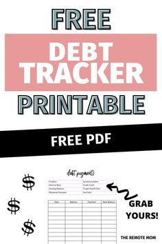 Debt Snowball Spreadsheet, Debt Snowball Calculator, Debt Snowball Worksheet, Debt Tracker, Paying Off Credit Cards, Budget Binder, Get Out Of Debt, Feeling Lonely, Debt Payoff