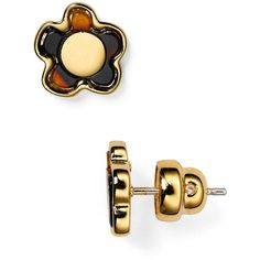 Marc By Marc Jacobs Flower Stud Earrings ($58) ❤ liked on Polyvore featuring jewelry, earrings, tortoise multi, tortoise shell jewelry, tortoiseshell jewelry, marc by marc jacobs, marc by marc jacobs earrings and flower stud earrings